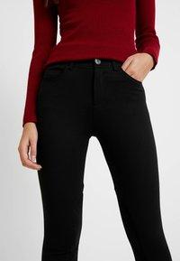 Benetton - RIDER PANTS - Trousers - black - 4