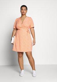 Fashion Union Plus - MERYL DRESS - Day dress - cantalope - 1