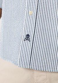 Scalpers - SCALPERS TEXTURED STRIPED SHIRT - Shirt - blue stripes - 5