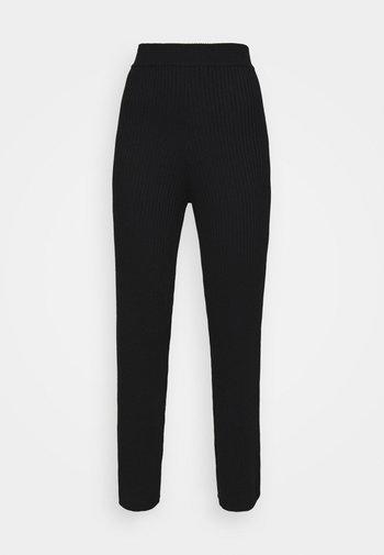 AUBREY TROUSER - Pantalones - black