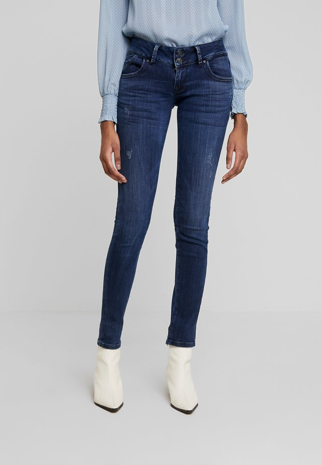 MOLLY - Jeansy Skinny Fit - yummy wash