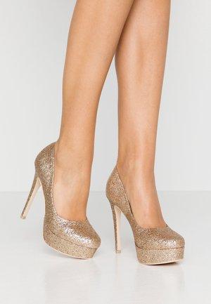 PLATFORM  - Høye hæler - glitter