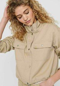 JDY - Summer jacket - beige, off-white, transparent - 4