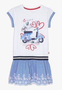 Lemon Beret - SMALL GIRLS DRESS - Robe en jersey - optical white - 0