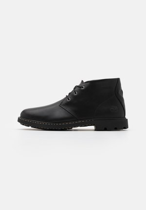 BELANGER CHUKKA - Casual lace-ups - black