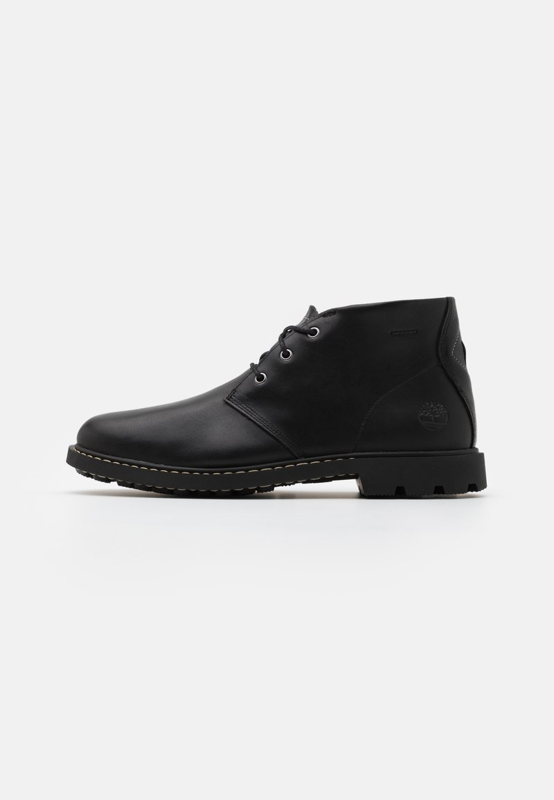 Timberland - BELANGER CHUKKA - Volnočasové šněrovací boty - black