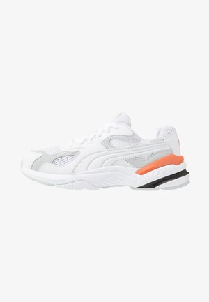 SUPR - Trainers - white/grey dawn/jaffa orange/black