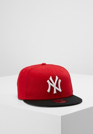 9FIFTY MLB NEW YORK YANKEES SNAPBACK - Kšiltovka - red/black