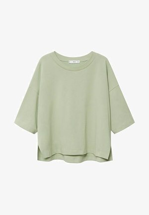 T-shirt print - bosgroen