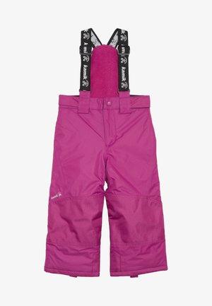 HARPER - Snow pants - berry