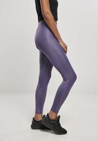 Urban Classics - Leggings - Trousers - darkduskviolet - 4