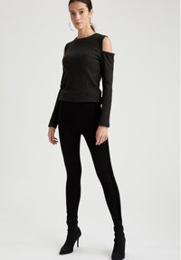 DeFacto - Leggingsit - black - 1