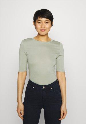 HIGH NECK TOP - Basic T-shirt - green