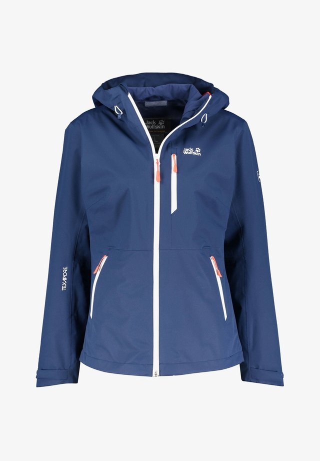 EAGLE PEAK - Waterproof jacket - marine