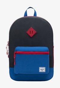 Herschel - School bag - black reflective/lapis blue reflective/red light - 0