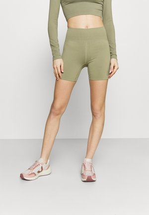 LIFESTYLE SEAMLESS YOGA SHORT - Trikoot - oregano