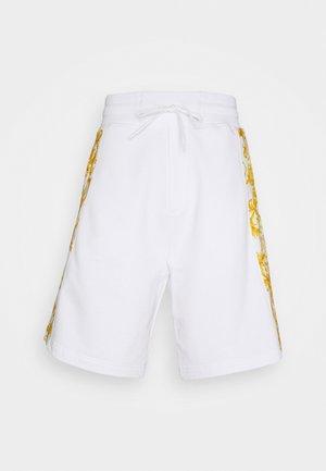 PRINT LOGO BAROQUE - Pantalon de survêtement - white