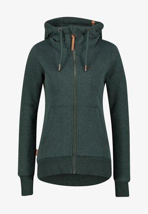 Zip-up hoodie - green