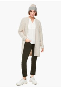 s.Oliver - Cardigan - light sand melange - 1