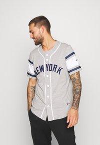 Fanatics - MLB NEW YORK YANKEES ICONIC FRANCHISE SUPPORTERS  - Club wear - grey - 0