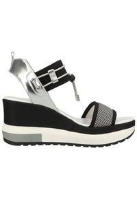 NeroGiardini - Platform sandals - grigio - 5
