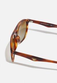 Emporio Armani - Sunglasses - striped red - 3