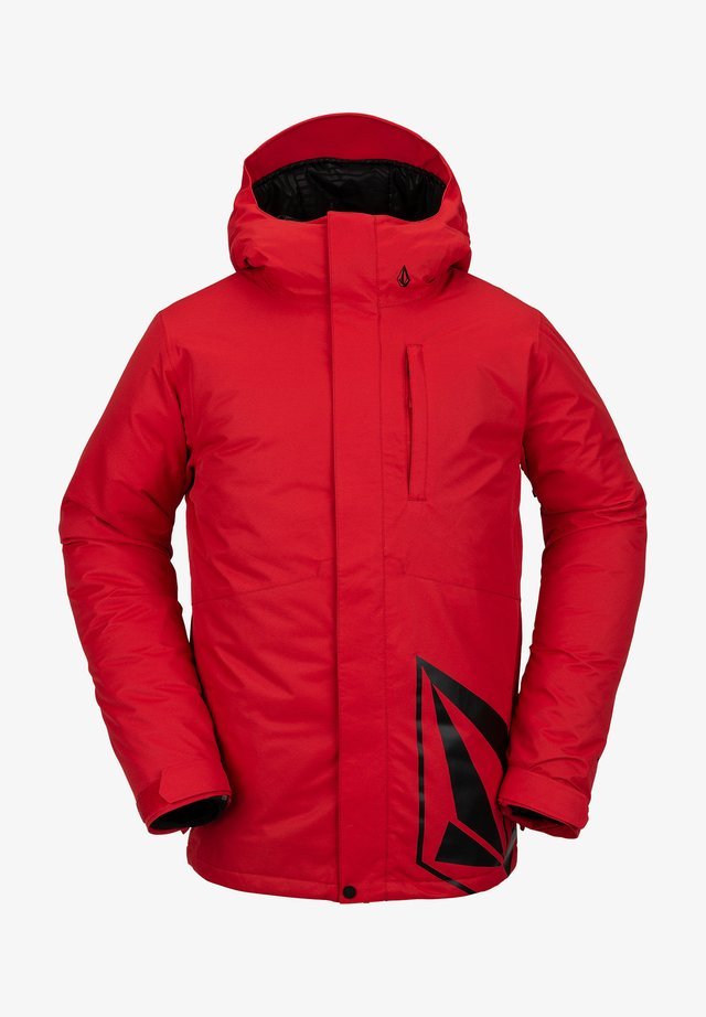 FORTY JACKET - Veste de snowboard - red
