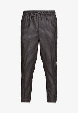 STRIPE PULL ON - Spodnie materiałowe - mid grey