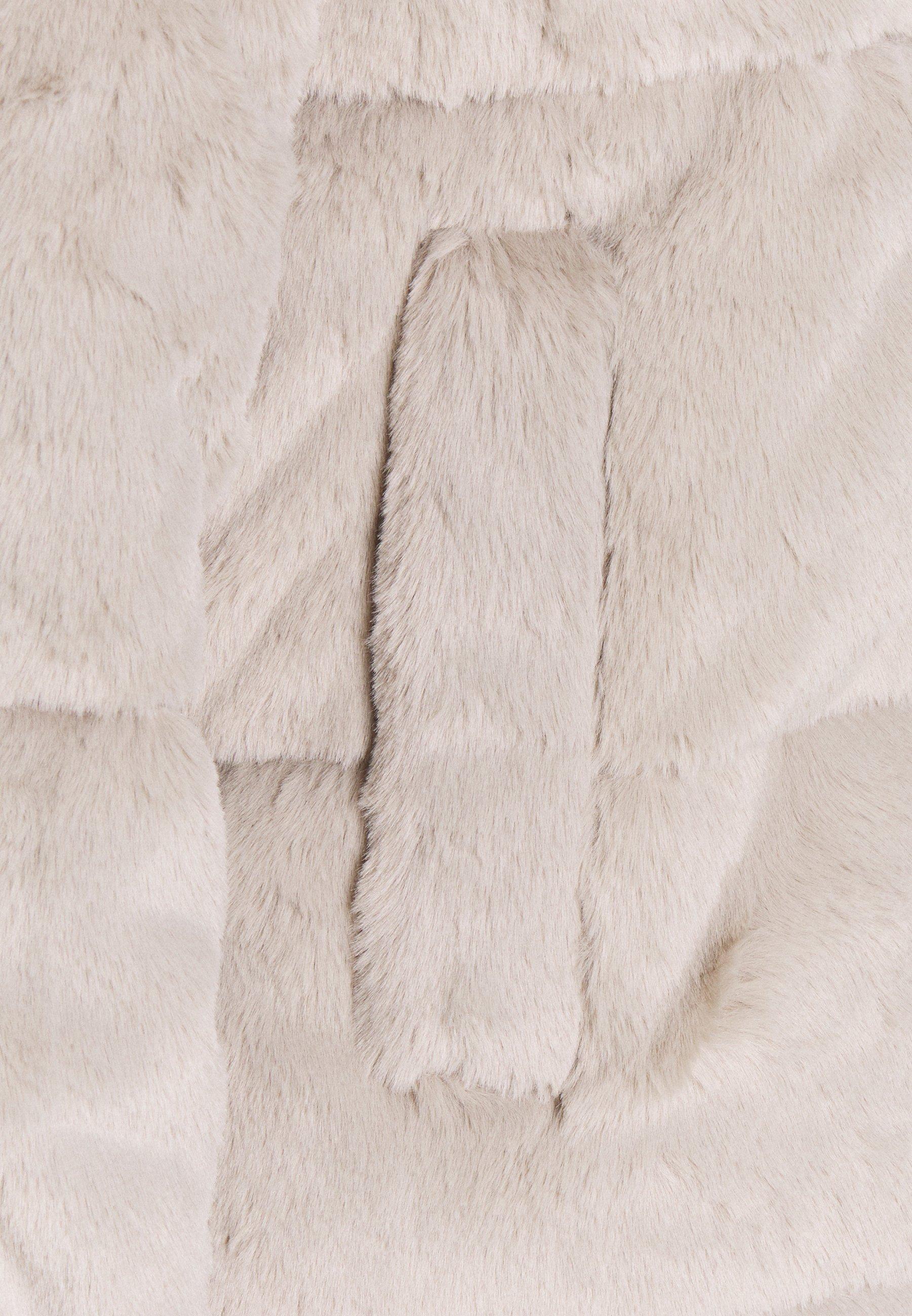Abercrombie & Fitch MINI PUFFER Winterjacke grey fur/grau