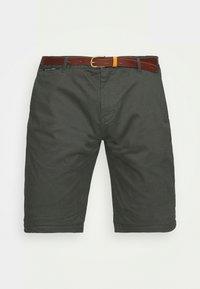 Scotch & Soda - CHINO WITH BELT - Shorts - charcoal - 3