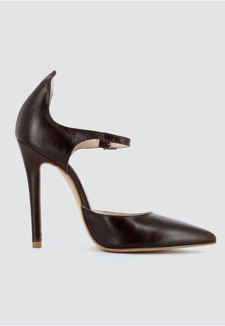 Evita Hoge hakken - dark brown - Damesschoenen Hot Koop
