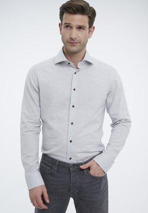 SLIM FIT - Shirt - light grey