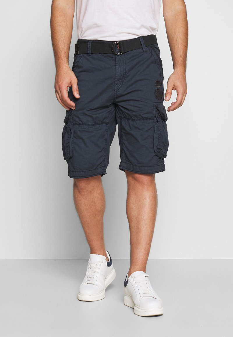 Cars Jeans - DURRAS - Shorts - navy