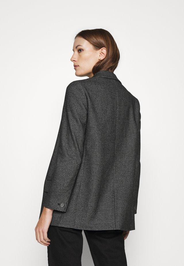 HELEI PUPPYTOOTH BLAZER - Krátký kabát - black/white