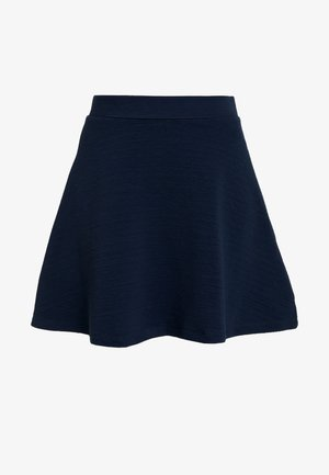 SKIRT - Áčková sukně - navy