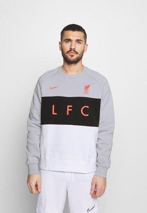 LIVERPOOL FC AIR CREW  - Club wear - wolf grey/white/black/laser crimson