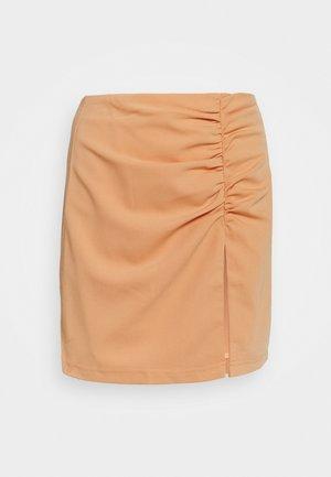 ALLIE SKIRT - Mini skirt - orange