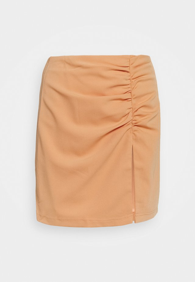 ALLIE SKIRT - Mini skirts  - orange