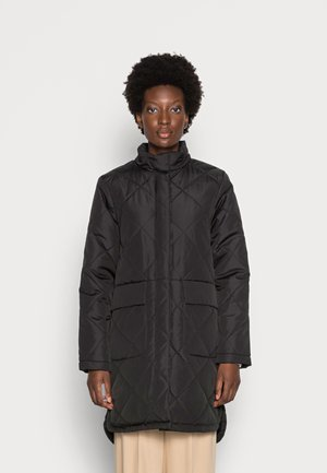 SLFNADDYQUILTED COAT - Classic coat - black