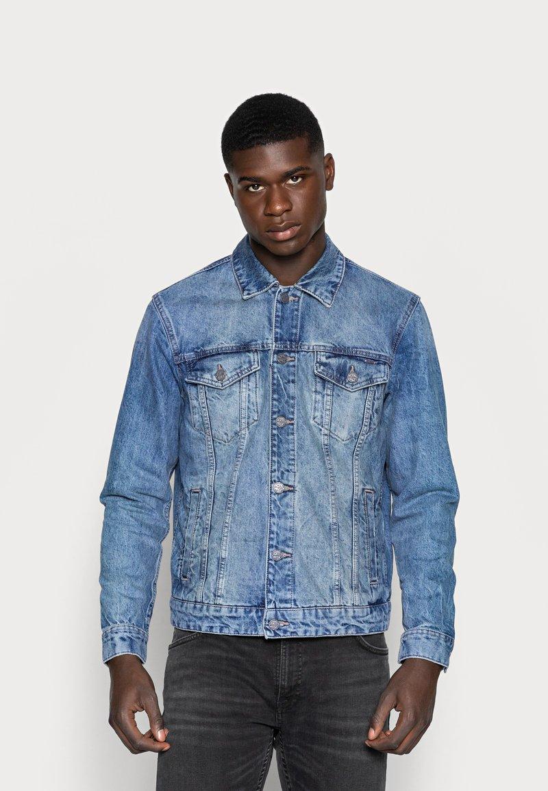Only & Sons - ONSCOIN TRUCKER  - Veste en jean - blue denim