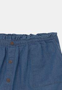 Lemon Beret - TEEN GIRLS - Mini skirt - denim blue - 2