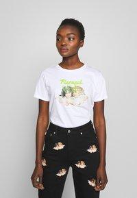 Fiorucci - ANGELS LASER - Print T-shirt - white - 0