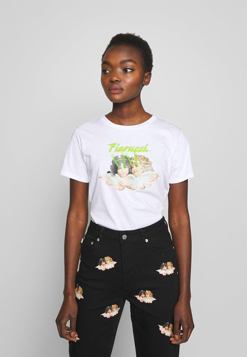 Fiorucci - ANGELS LASER - Print T-shirt - white