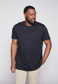 Esprit - 2 PACK - T-shirt basic - black - 1