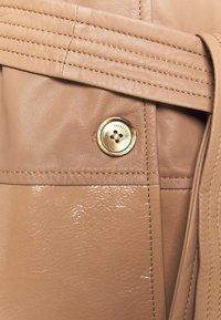 Trussardi - Leather jacket - tannin - 2