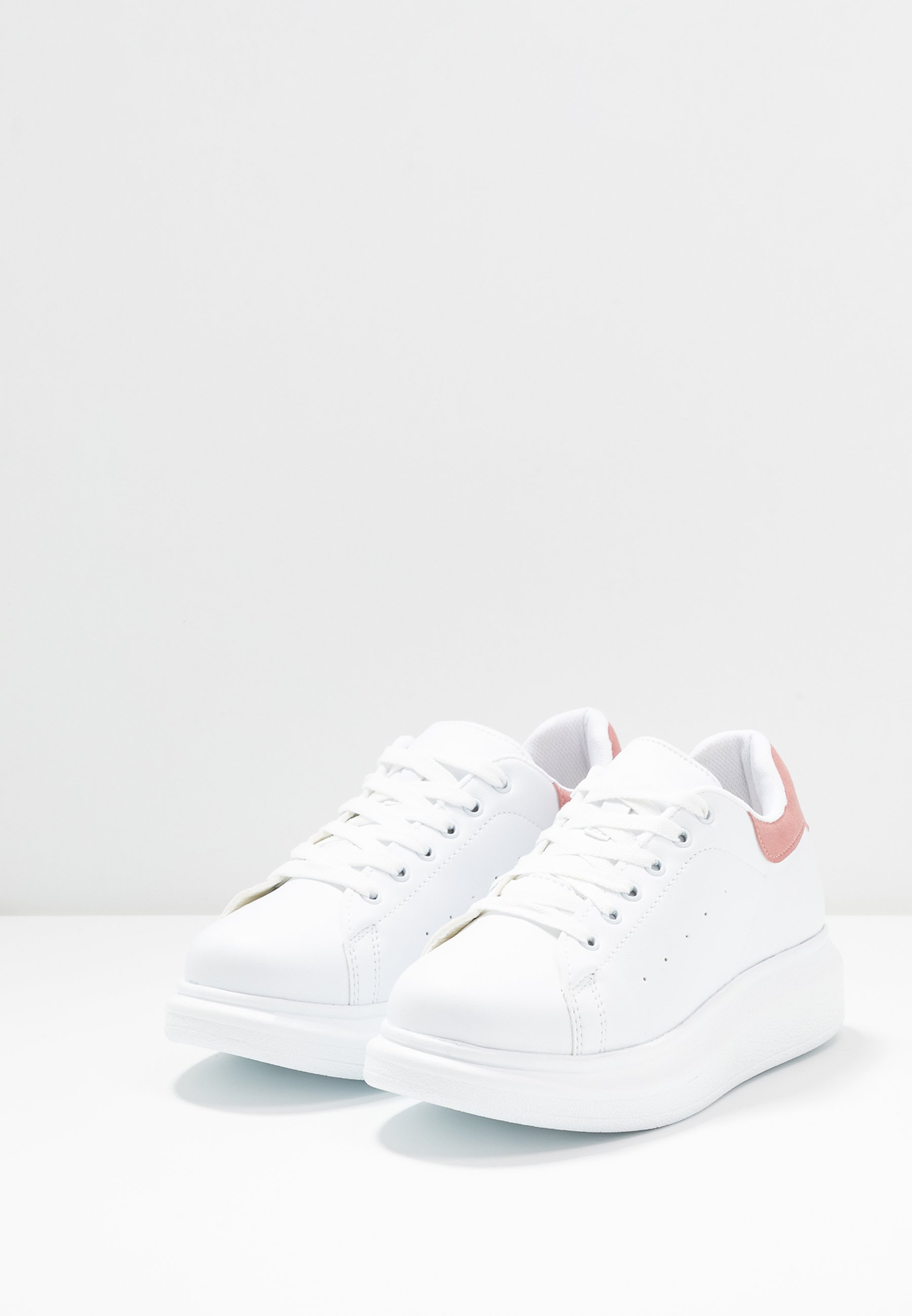 Nly by Nelly PERFECT Sneaker low white/pink/weiß