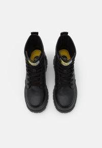 Buffalo - VEGAN ASPHA - Lace-up ankle boots - black - 3