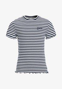 WE Fashion - T-shirt basic - dark blue - 3