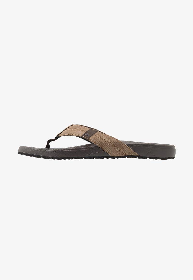 Reef - CUSHION BOUNCE PHANTOM - T-bar sandals - brown/tan