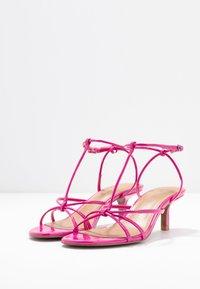 Who What Wear - FREYA - Sandals - magenta - 5